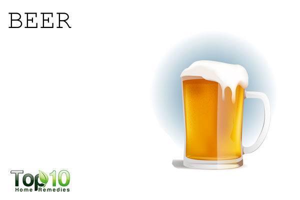 beer to repel garden pests