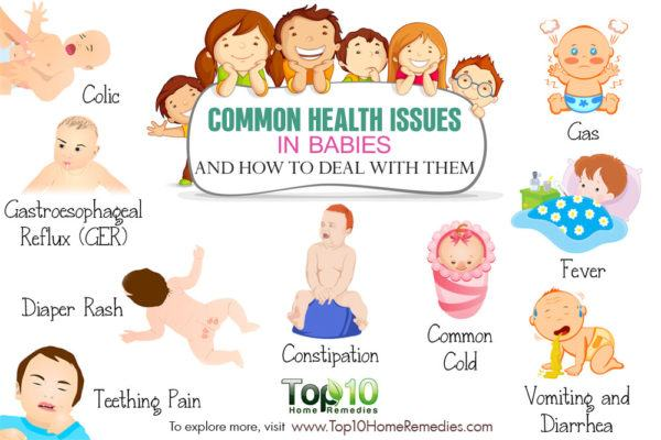 common health problems in children and how to deal with them