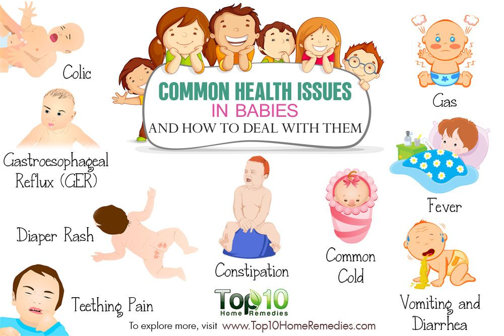 10 Common Health Issues In Babies And How To Deal With