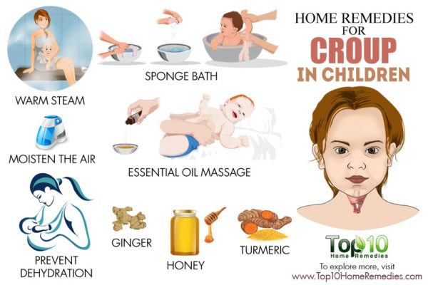 home remedies for croup in children