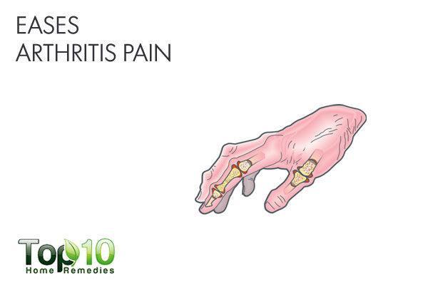 apple cider vinegar eases arthritis pain