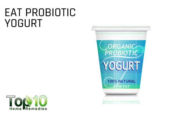 eat probiotics to reduce antibiotic side effects