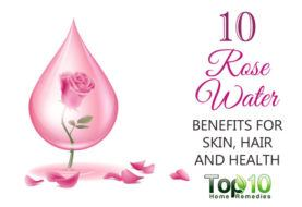 10 Rose Water Benefits for Skin, Hair and Health