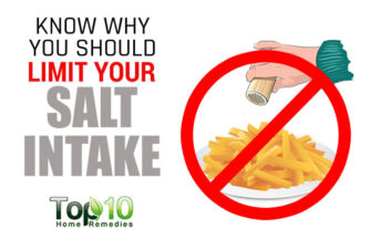 Know Why You Should Limit Your Salt Intake