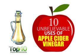 10 Unbelievable Uses of Apple Cider Vinegar