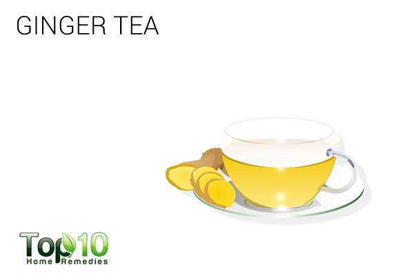 ginger tea for paresthesia