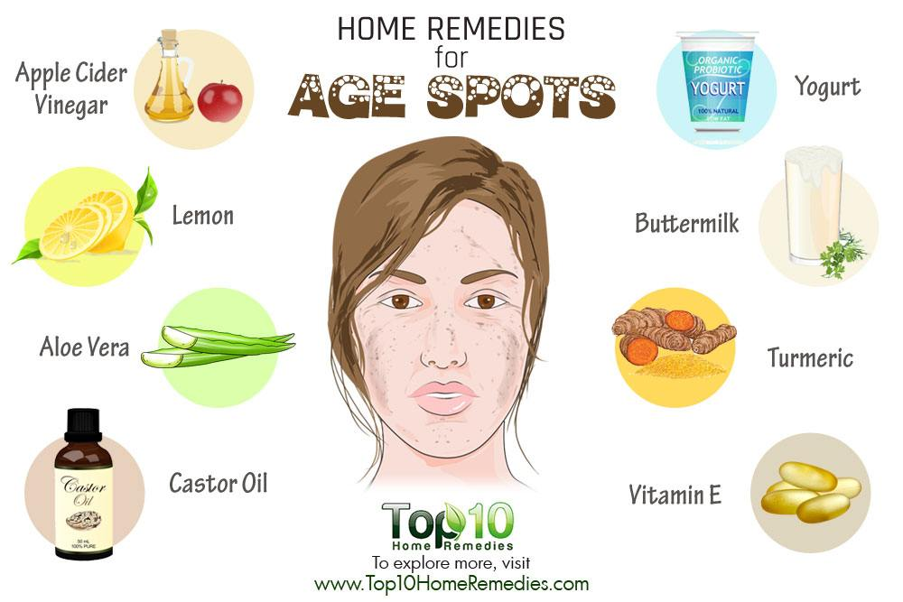 Natural Way To Get Rid Of Age Spots