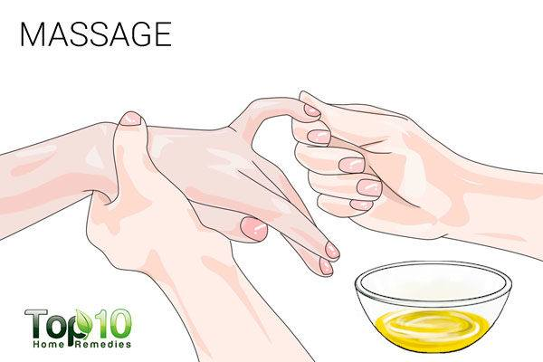massage to treat paresthesia