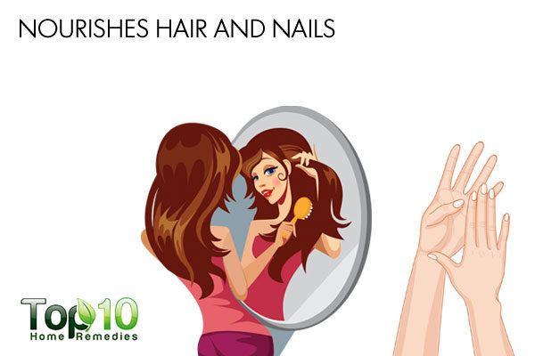 diatomaceous earth nourishes hair