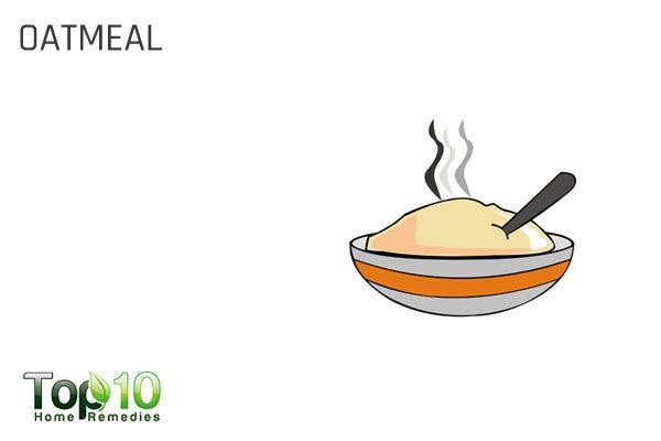 oatmeal for rosacea