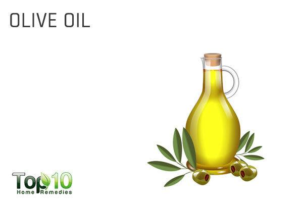olive oil to remove garlic odor