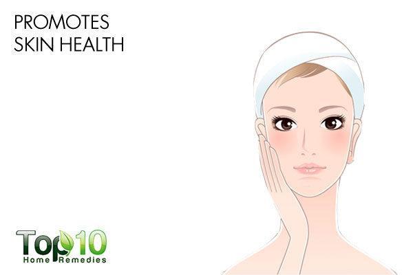 diatomaceous earth prmotes skin health