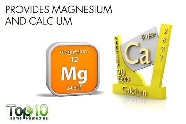 coconut water provides magnesium and calcium