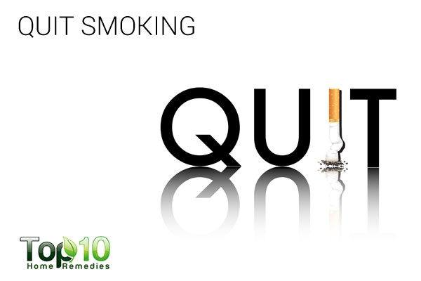 quit smoking to treat paresthesia