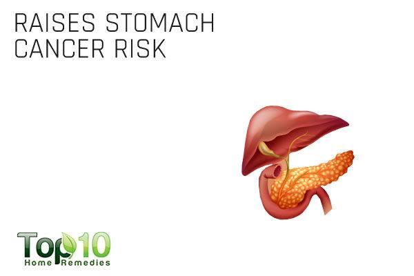 excess salt consumption raises stomach cancer risk
