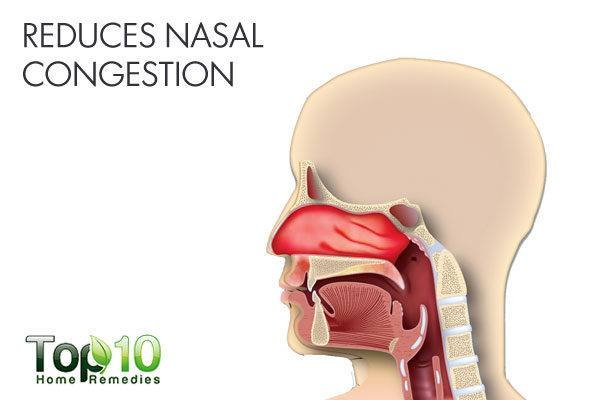 ACV reduces nasal congestion