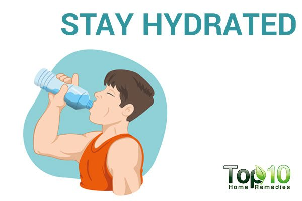 stay hydrated to fight adrenal fatigue