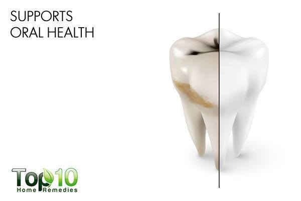 diatomaceous earth supports oral health