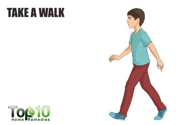 take a walk to control anger