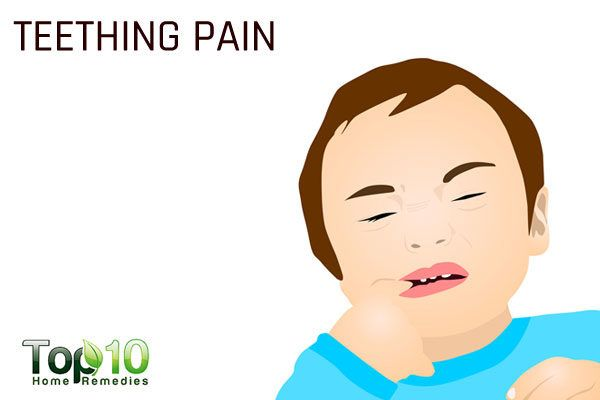 teething pain in children