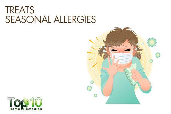 honey treats seasonal allergies