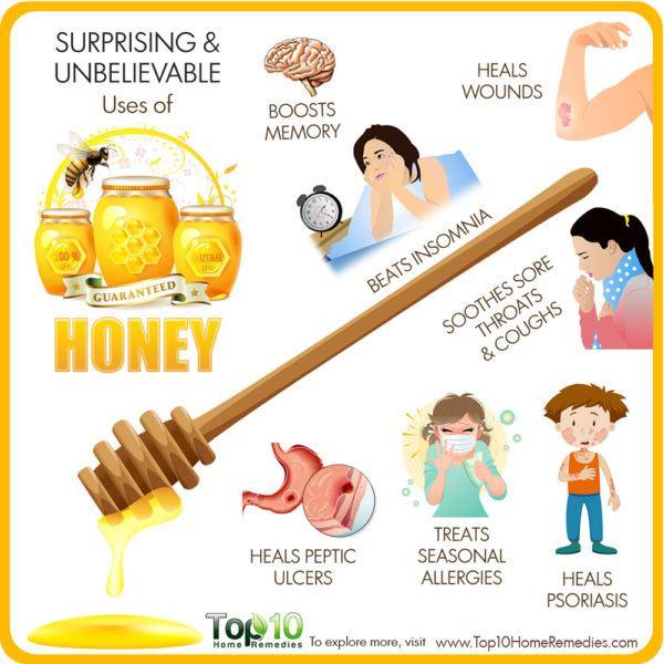 unbelievable uses of honey