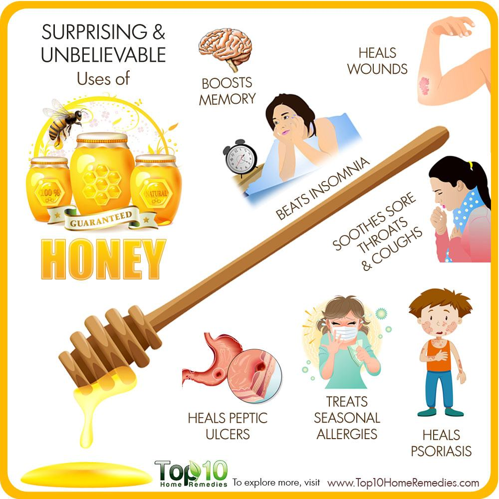 10 Surprising And Unbelievable Uses Of Honey Top 10 Home