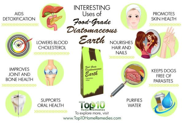 uses of food-grade diatomaceous earth