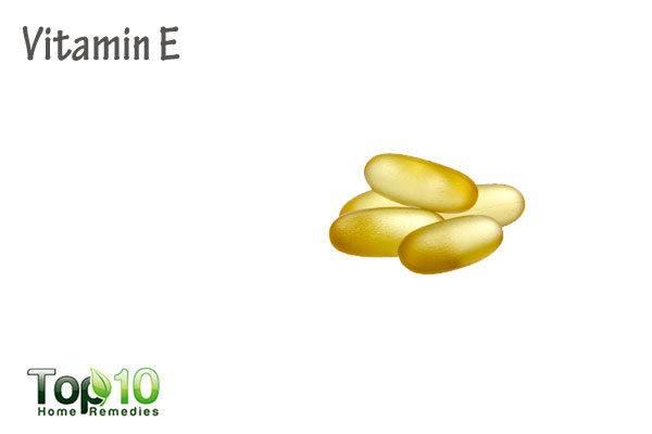 vitamin E to fade age spots