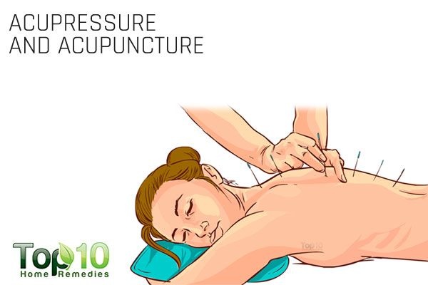 acupressure and acupuncture for pinched nerve
