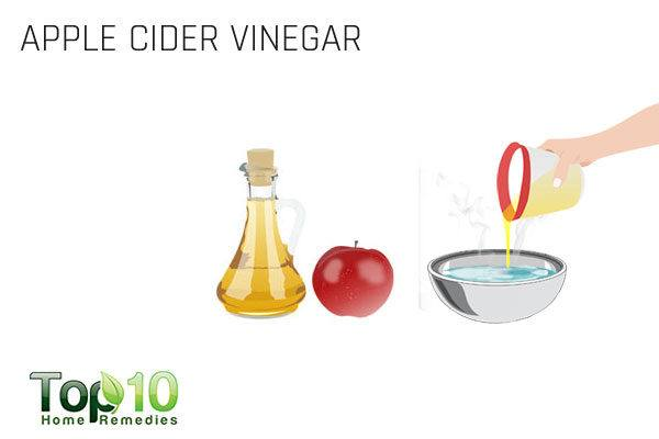 apple cider vinegar for goose egg