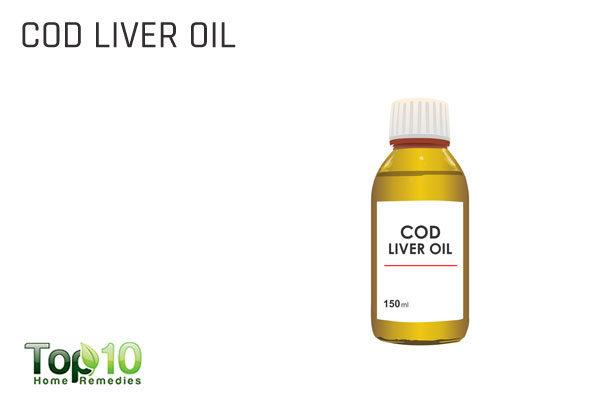 cod liver oil for enlarged adenoids