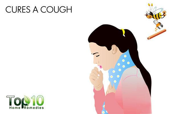 honey and cinnamon to cure cough