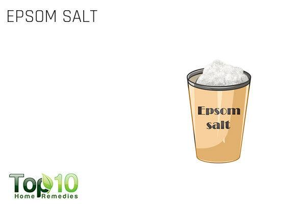 epsom salt bath to treat a pinched nerve