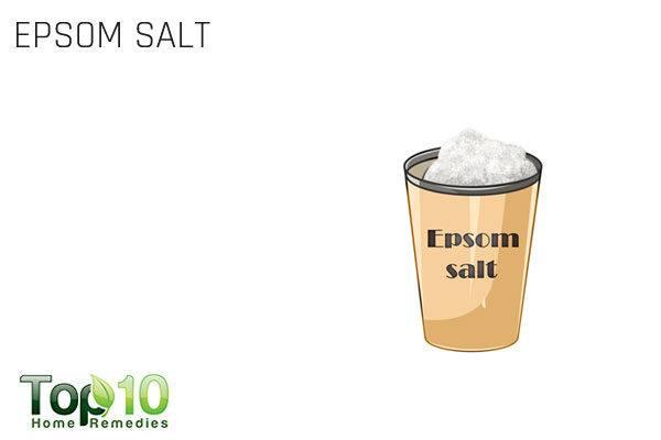 epsom salt bath to treat a pinched nerve