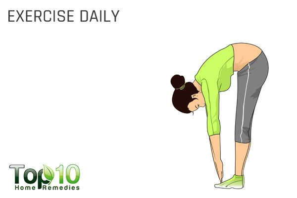 exercise daily to unblock fallopian tubes