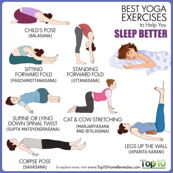 Best Yoga Exercises To Help You Sleep Better Top 10 Home