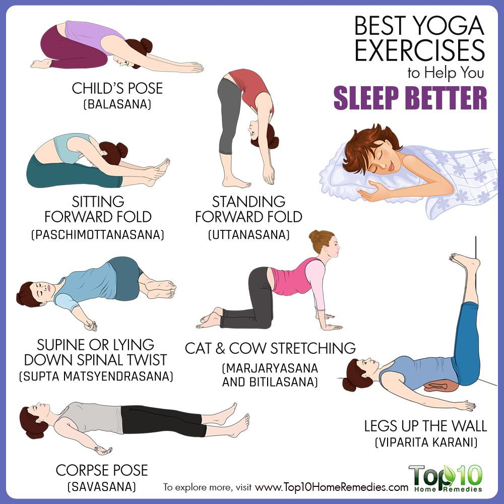 Best Yoga Exercises to Help You Sleep Better