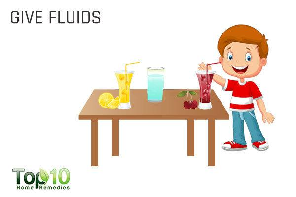 fluids for enlarged adenoids