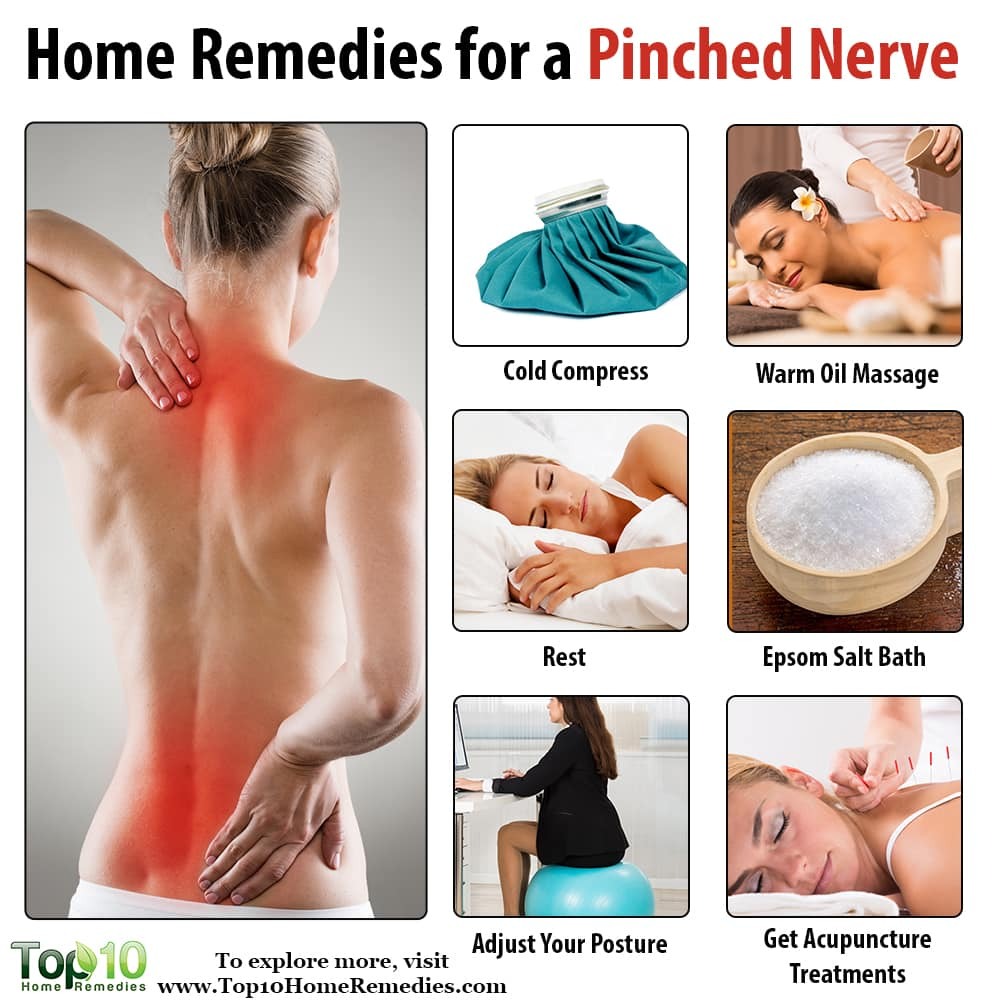 how to fix a pinched nerve
