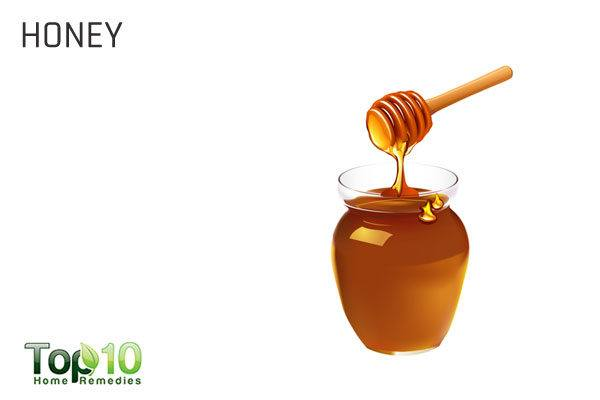 honey for enlarged adenoids