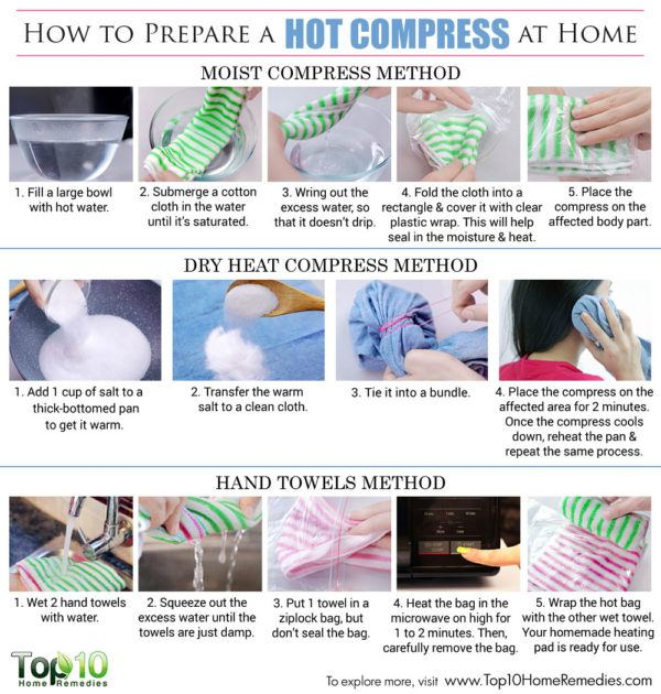 how to prepare hot compress