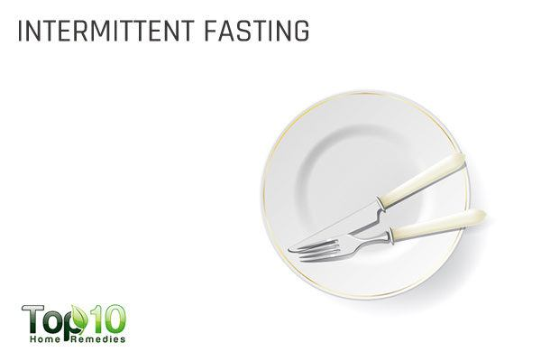 intermittent fasting to treat acidic pH