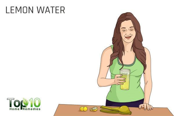 lemon water to alkalize your body