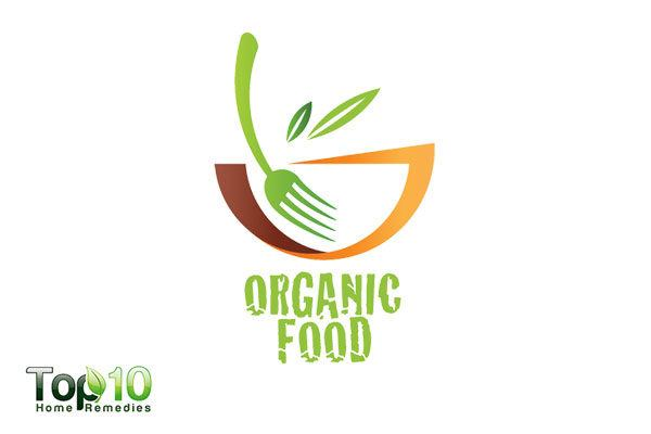 eat organic foods to balance body pH