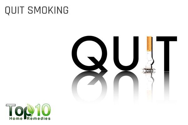 quit smoking to treat blocked fallopian tubes