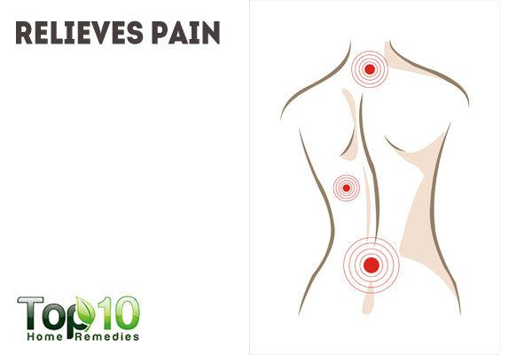 nutmeg relieves joint pain