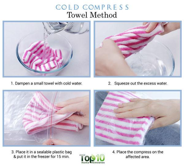 cold compress towel