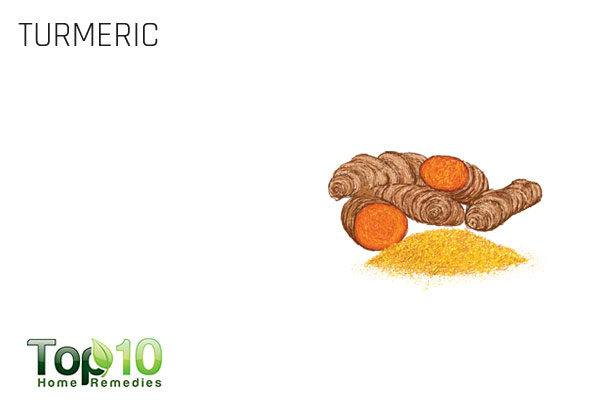 turmeric for folliculitis