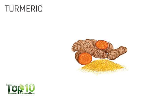 turmeric for enlarged adenoids